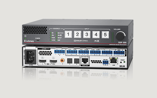 Extron Ships Audio Surround Sound Processor Designed Specifically for Pro AV
