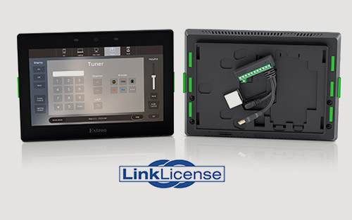 New Extron LinkLicense and TLCA 1 Adapter Transform your Touchpanel into an All-In-One Control System