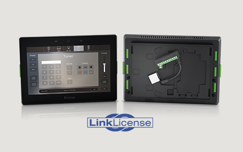 Extron LinkLicense and TLCA 1 Now Shipping - Transform your Touchpanel into an All-In-One Control System