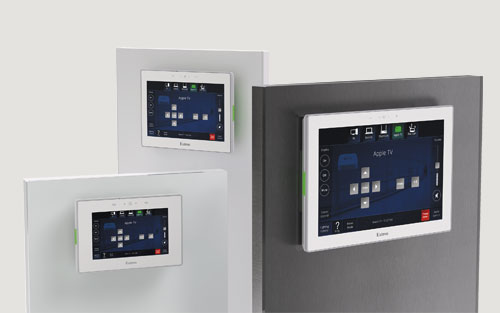 New TLC Pro Series Touchpanels with Built-In Control Processor