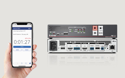 Extron Announces Easy Lesson Recording Control on your Mobile Device