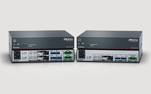 Extron Introduces XPA Ultra Amplifiers with Switchable Bridging