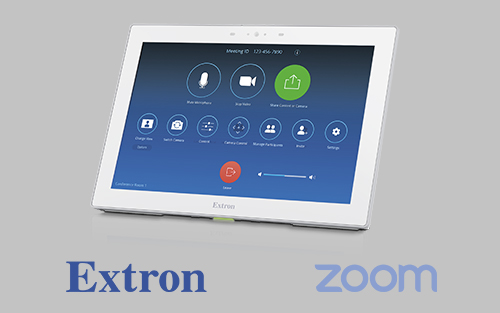 New Enhancements and Updates for Extron Control for Zoom Rooms