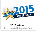 Commercial Integrator Best 2015 Award Winner