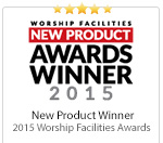 2015 Worship Facilities New Product Awards Winner