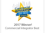 Commercial Integrator Best 2017 Award Winner