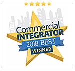 Commercial Integrator Best 2018 Award Winner