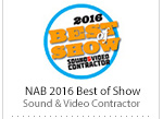 Best of Show 2016 Sound & Video Contractor