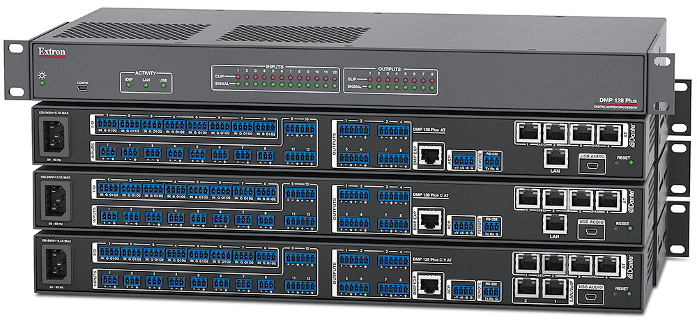 Dante-Enabled Products from Extron | Extron