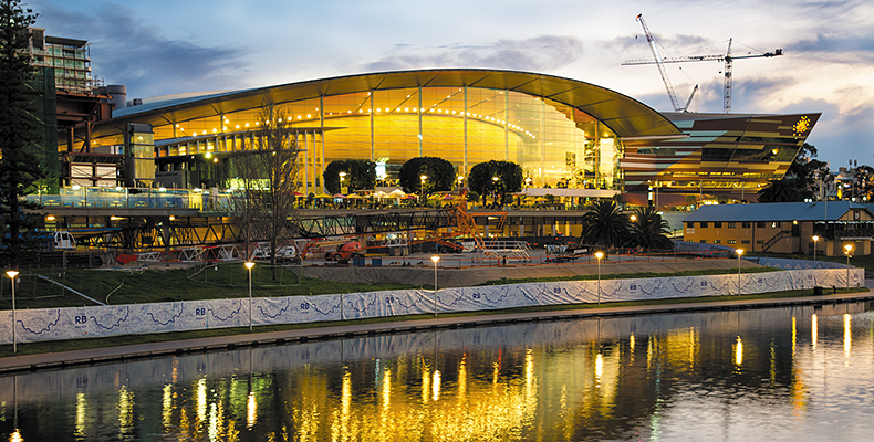 Adelaide Convention Centre Simplifies AV Operations with Extron DMP 128 and XTP Systems