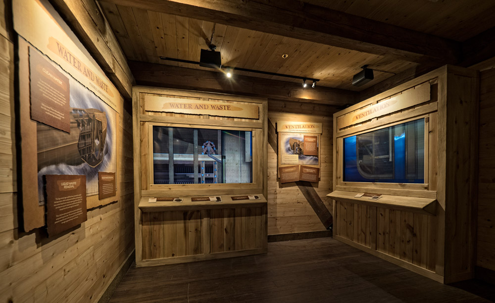 Each of the Ark's 24 interactive exhibition stations offers visitors a personalized experience with history.