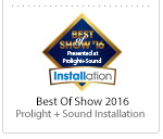 Best of Show 2016 Prolight + Sound Installation