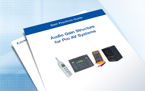 Audio Gain Structure for Professional AV Systems