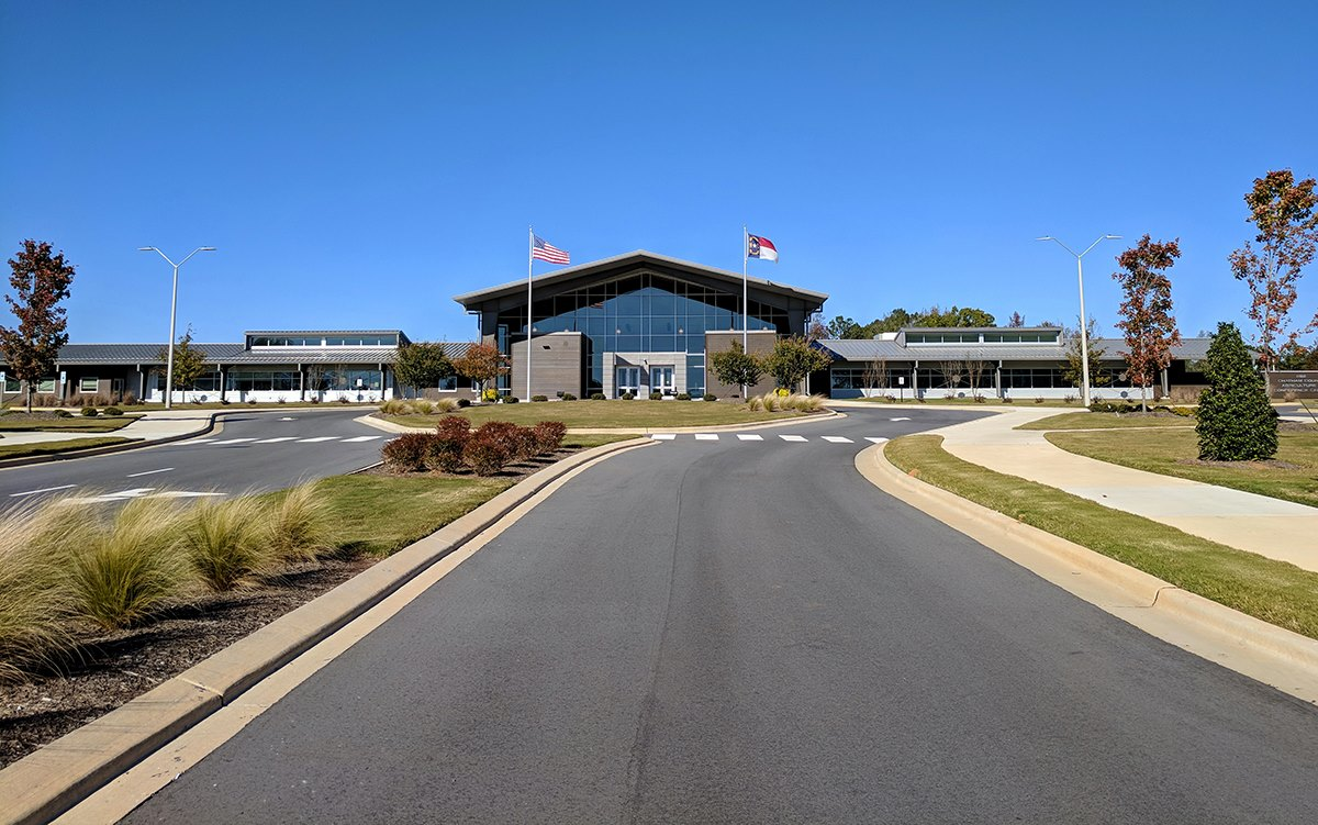 The new Chatham County Agriculture and Conference Center – CCACC is situated on the outskirts of Pittsboro, North Carolina.