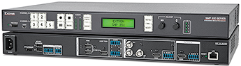 Sessions are streamed and recorded using the Extron SMP 351 for archiving, repurposing, and publication through Coastline's learning management system.