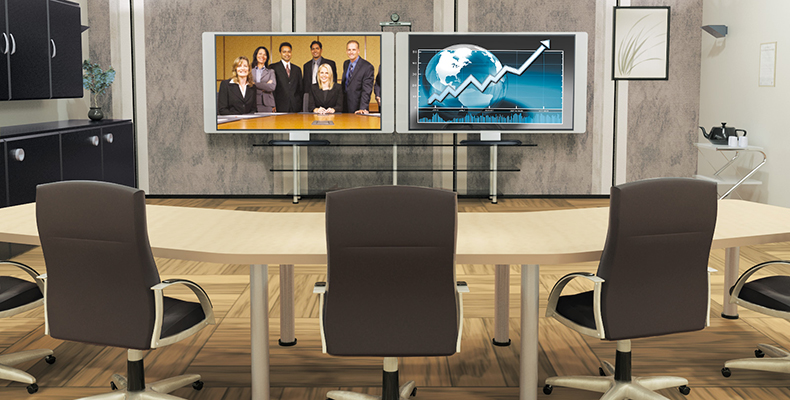 Video Teleconference with Touchpanel Control