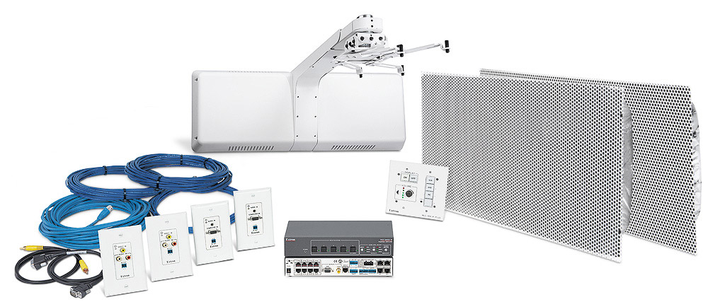 WallVault Systems are easy-to-use, network-enabled, all-inclusive AV switching and control packages, making them ideal for single-display K-12 classrooms.