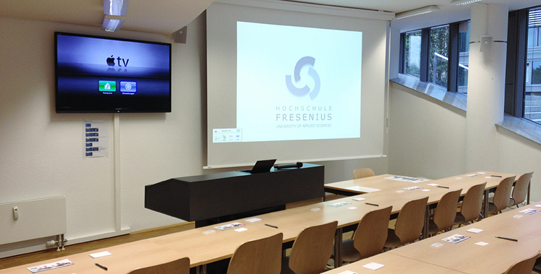 Germany's Fresenius University Uses TouchLink for User-Friendly AV Control