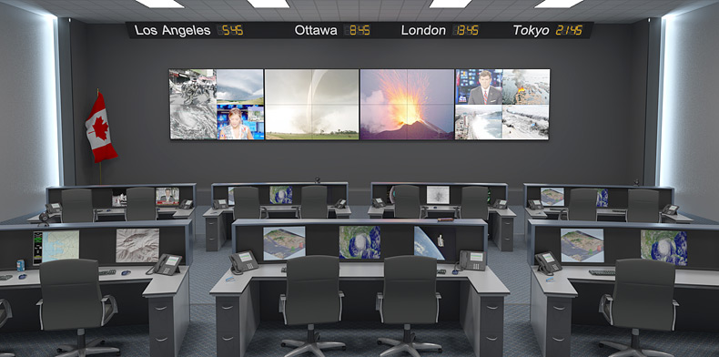 G8/G20 Summits Achieve Secured AV with Fiber Optic Products from Extron