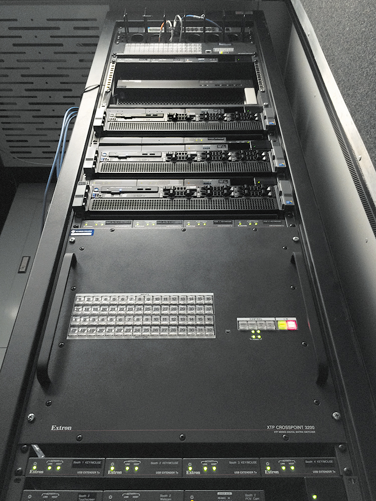 Extron XTP CrossPoint 3200 matrix switcher