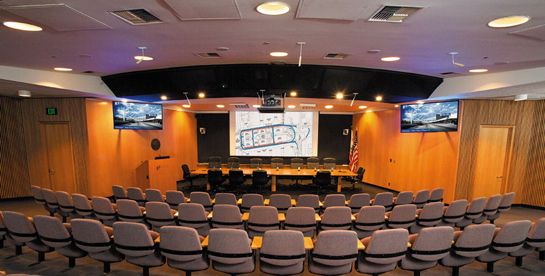 The LAWA Board of Commissioners authorized the design and installation of a new system with superior video and audio capabilities