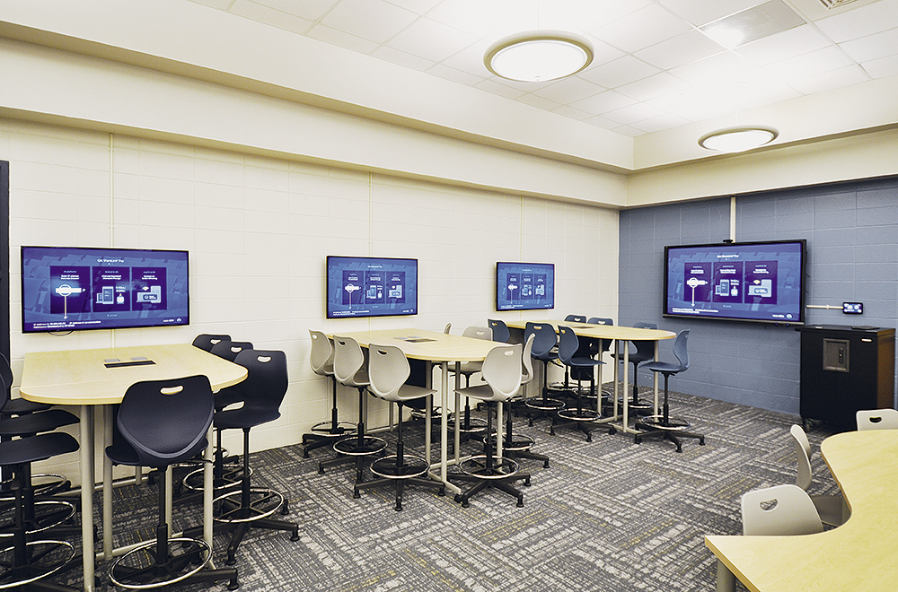 Mobile County Public School System Collaboration Room