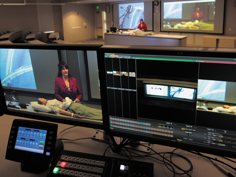 Flexible AV System Switching for presentation and video conferencing