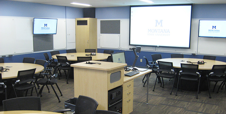 Montana State Provides Technology-Enhanced Active Learning with Extron XTP Systems