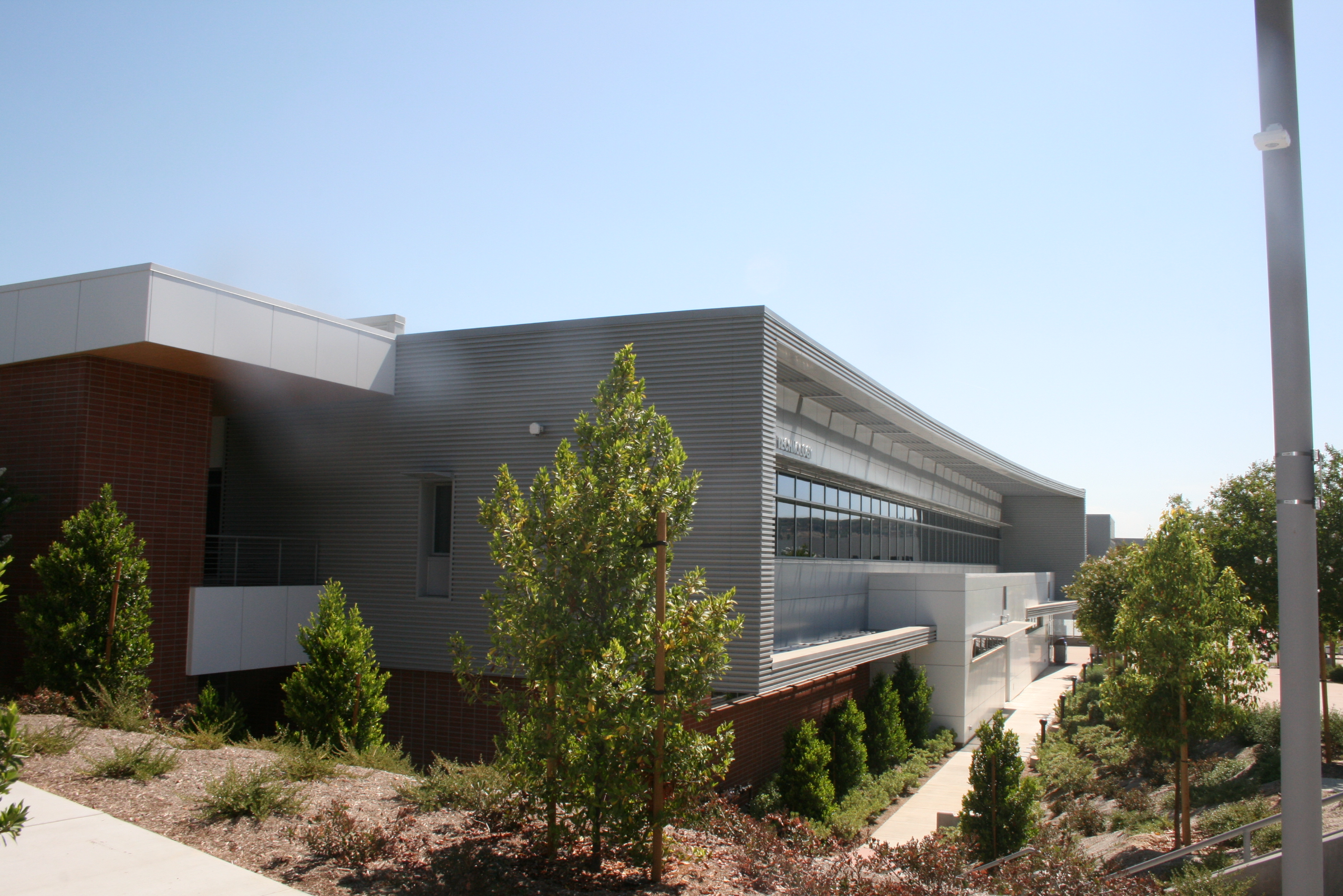The HRM Culinary Arts facility is housed within the Business and Computer Technology Complex at Mt. San Antonio College in Walnut, California.