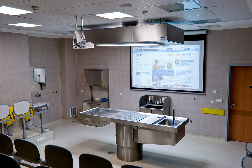 The campus includes a variety of teaching labs with access to the AV system.