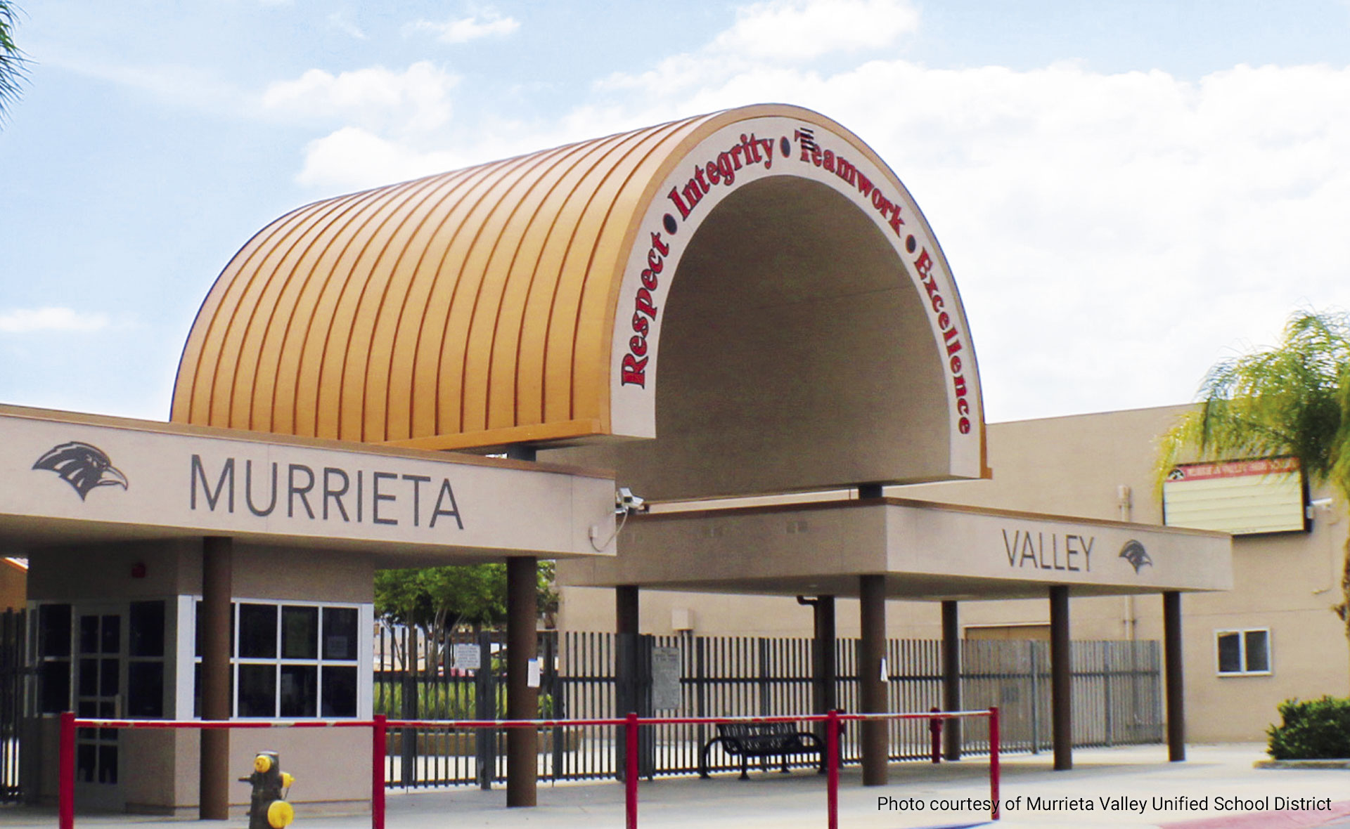Murrieta Valley USD facility. Photo courtesy of Murrieta Valley USD.