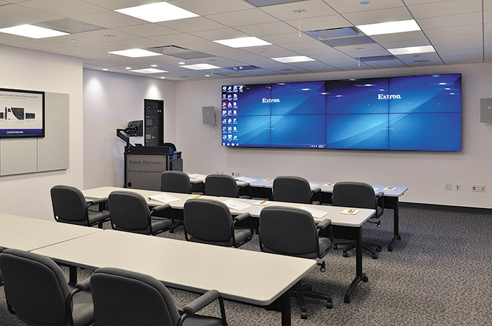 Innovative Classroom ~ Extron opens product demonstration and training facility