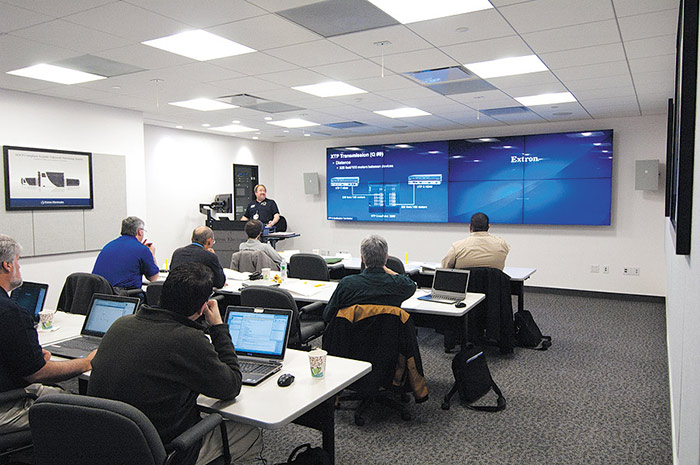 Classroom Design Orientation : Extron opens product demonstration and training facility