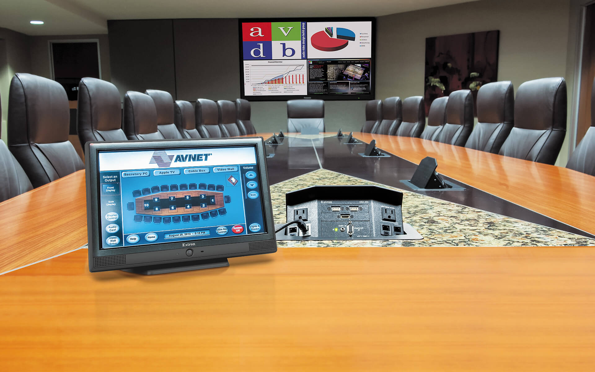 Fortune 500 Company Uses Extron Products In Complete