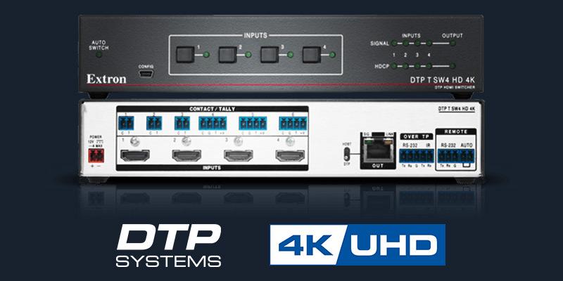 DTP T SW4 HD 4K | Extron