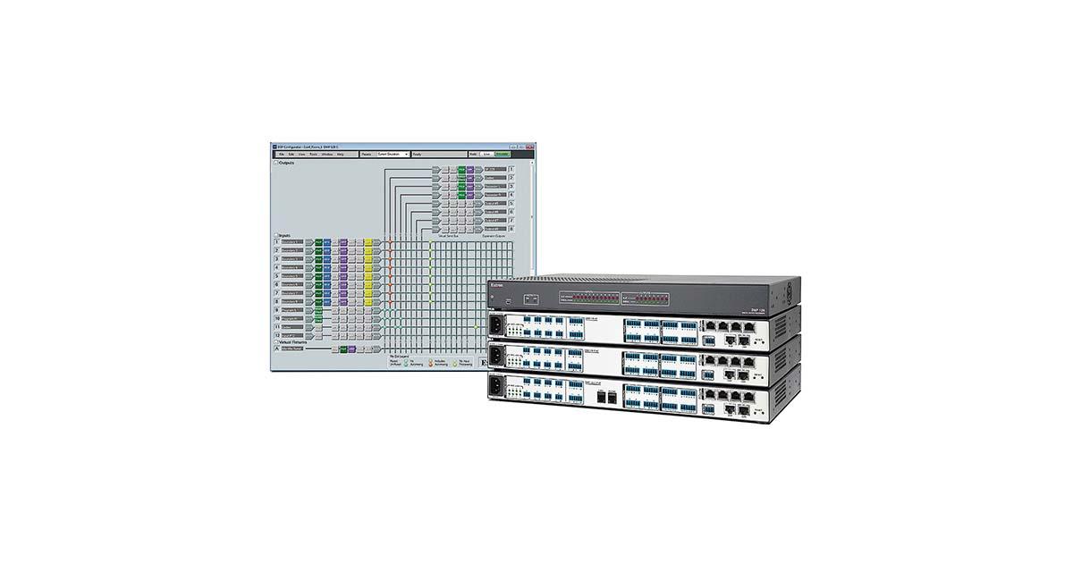 DMP 128 - DSP, Expansion & Software   Extron