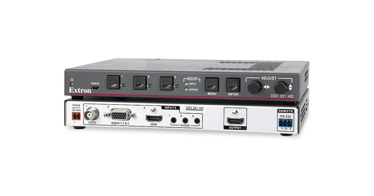 Dsc 301 Hd Scalers Amp Signal Processors Extron