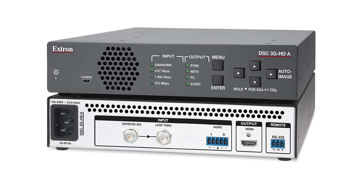 Dsc 3g Hd A Scalers Amp Signal Processors Extron