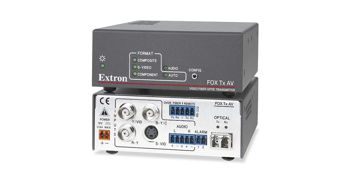 FOX Tx AV - Fiber Optics   Extron