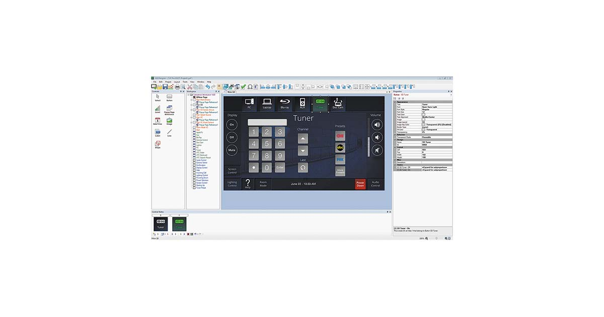 GUI Designer - Software | Extron