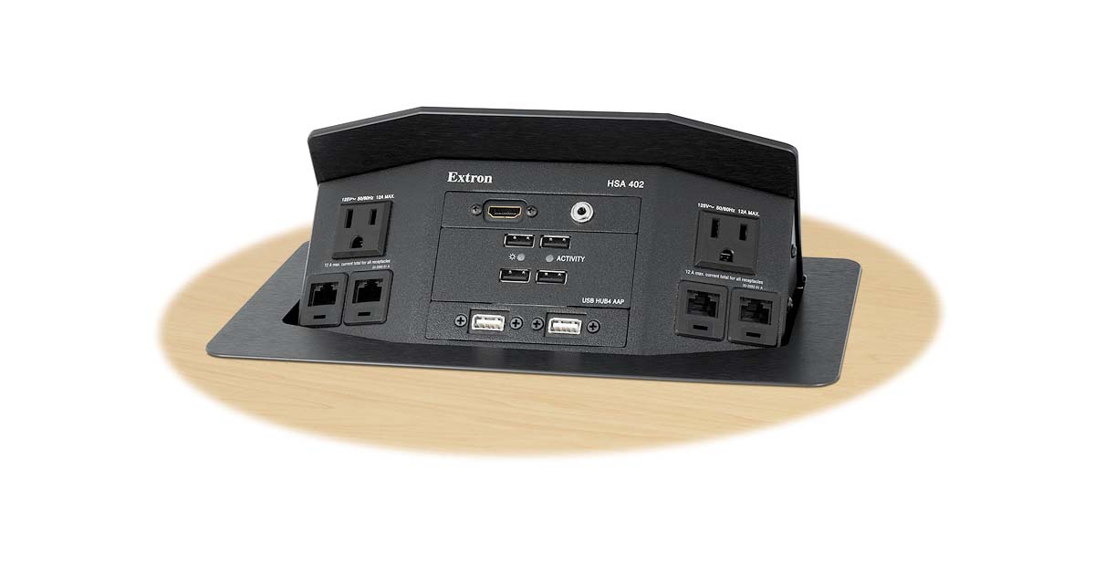 Hideaway HSA 402 - Architectural Connectivity | Extron on