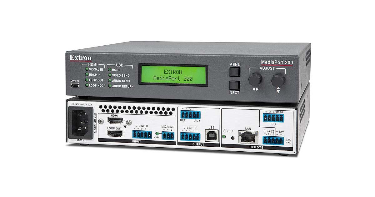 MediaPort 200 - USB for Pro AV   Extron