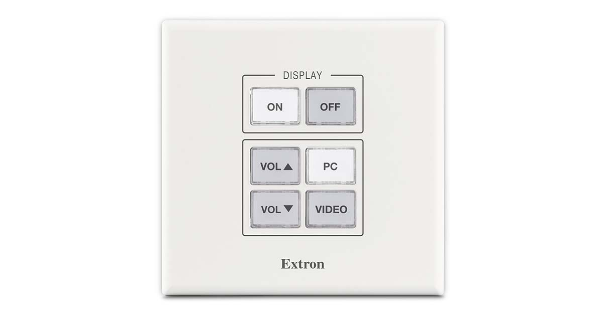 Drivers Update: Extron MLC Plus 200 AAP Ethernet Controller