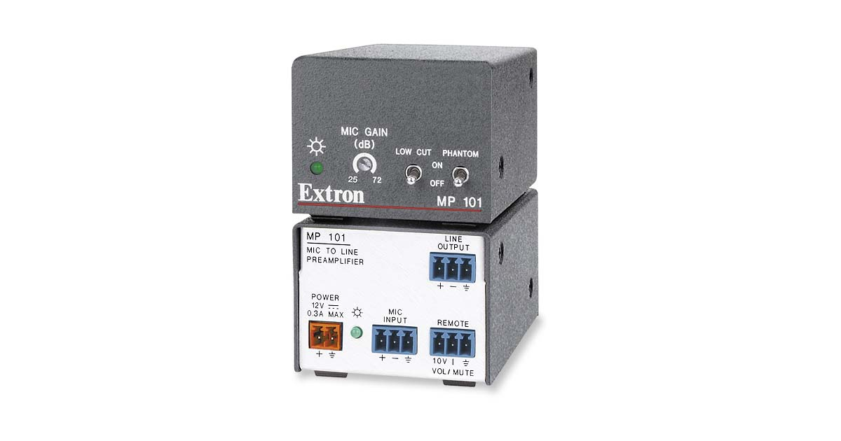 MP 101  Audio Products   Extron