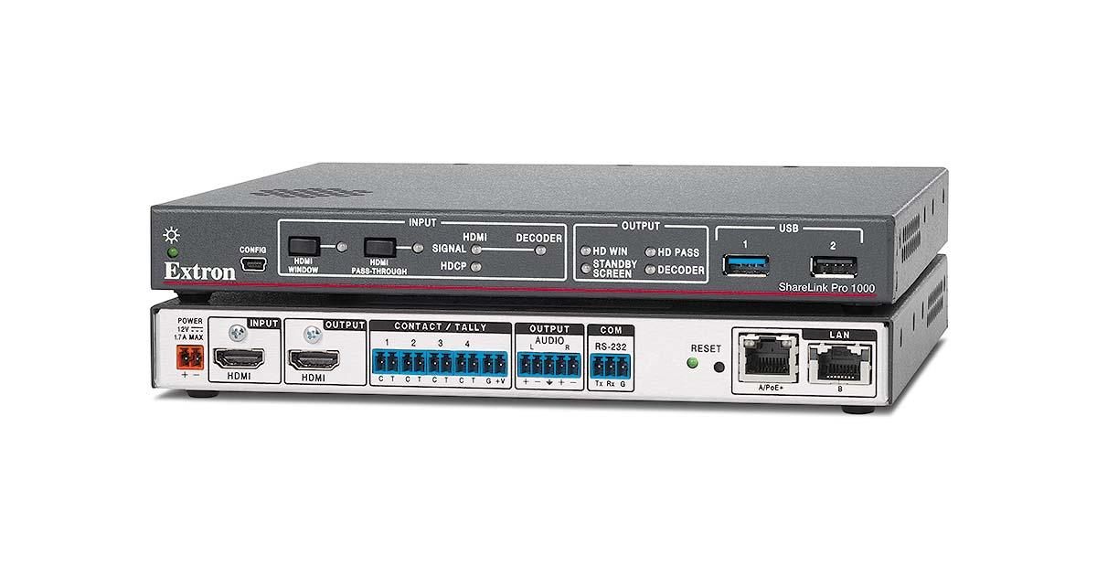Sharelink Pro 1000 Wireless Extron