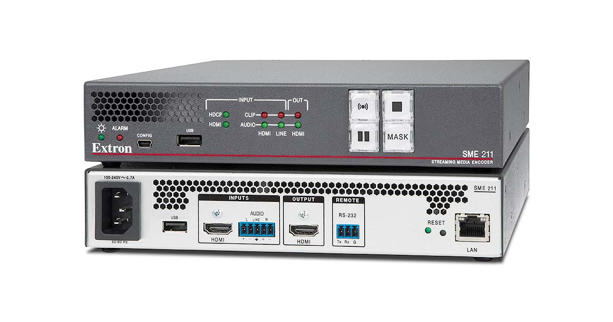 SME 211 - Streaming AV Products   Extron