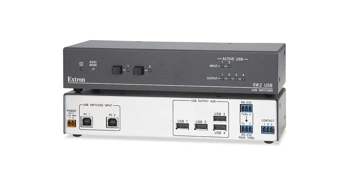 DRIVERS FOR EXTRON SW4 USB SWITCHER