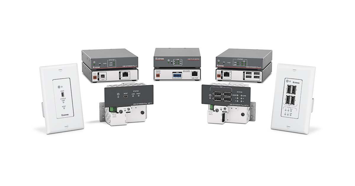 Extron USB Extender Plus T//R