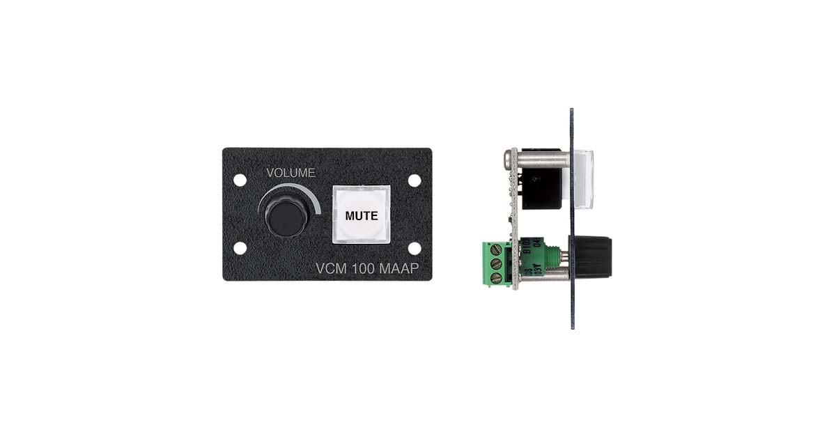 VCM 100 MAAP - Audio Products   Extron