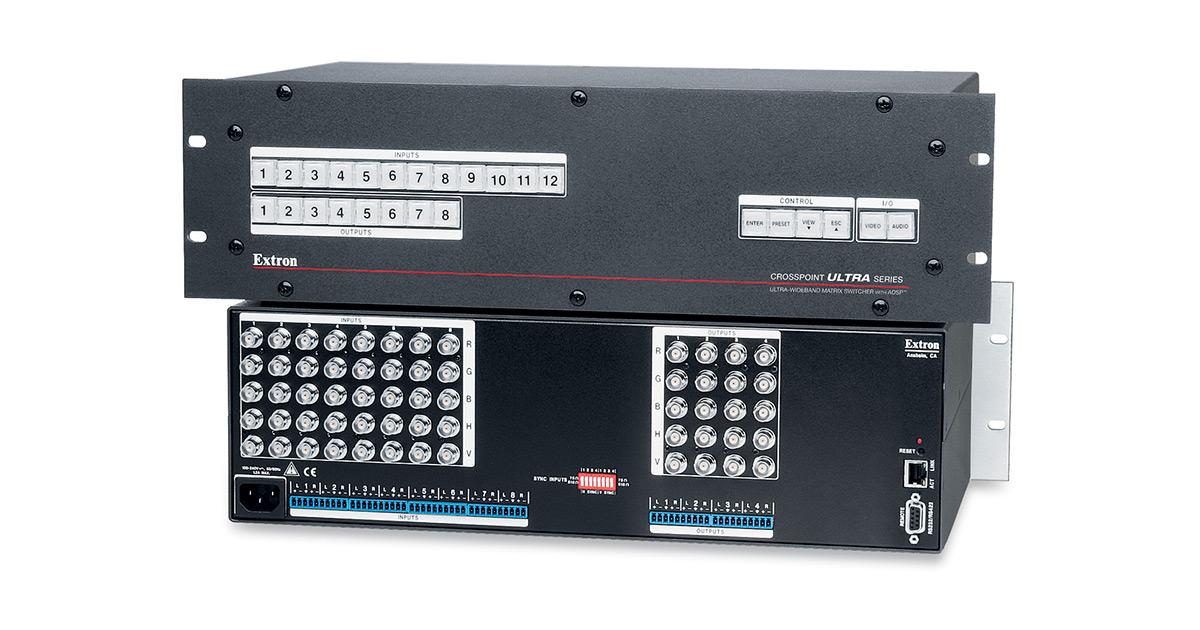 Ultra Wideband Rgb Matrix Switchers Extron